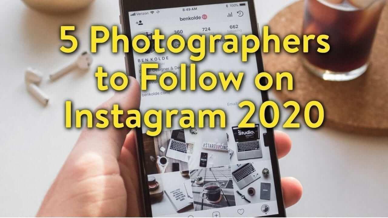 instagram photographers to follow
