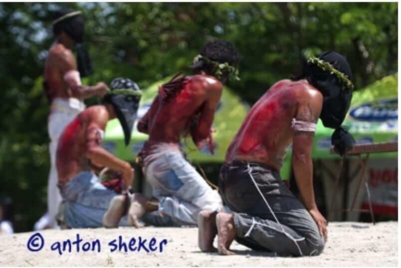 flagellation holy week