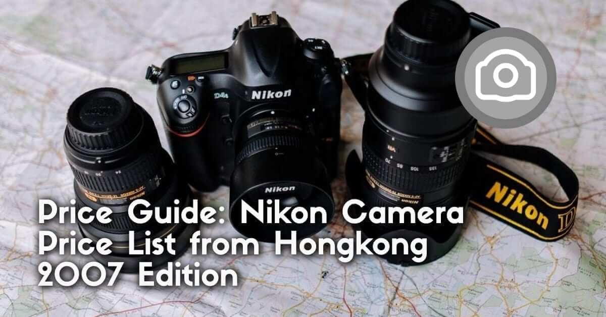 camera price guide